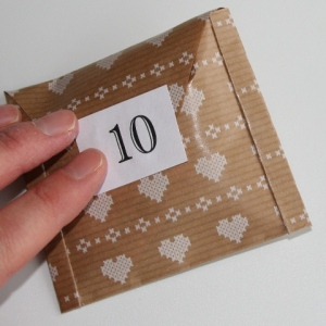 Number your envelope