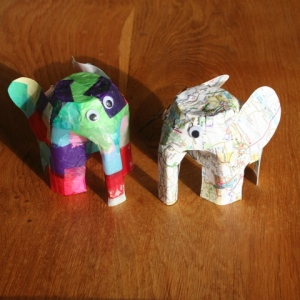 Elmer and friend
