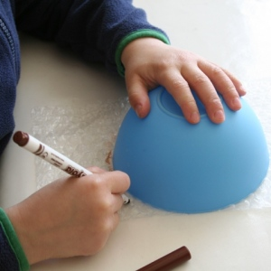 Draw round bowl