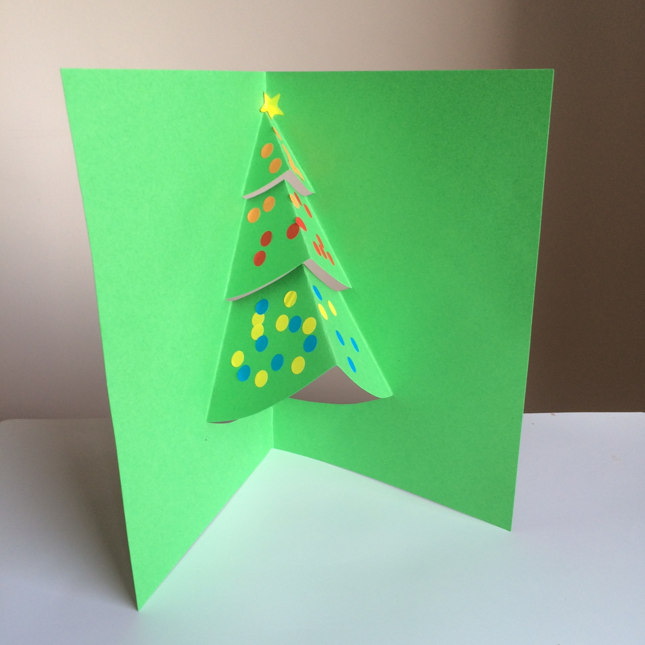 Pop up christmas tree card pebble and scribble pop up christmas tree card m4hsunfo