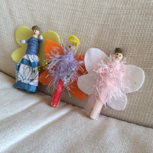 Fairies waiting for Christmas